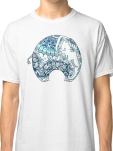 Decorated Indian Elephant Classic T-Shirt