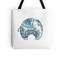 Decorated Indian Elephant Tote Bag