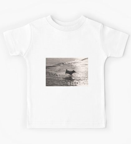 Skipping Waves Kids Tee