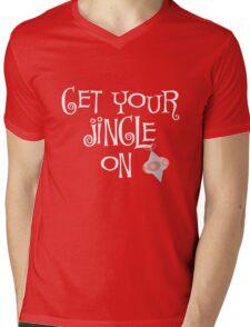Get your Jingle On Christmas  Mens V-Neck T-Shirt
