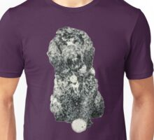 Cockapoo with a ball (Pink) Unisex T-Shirt