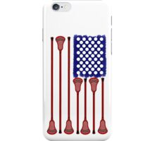 Lacrosse AmericasGame iPhone Case/Skin
