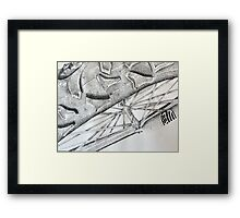 The Wheels on the Bicycle Framed Print