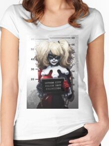 S S Women's Fitted Scoop T-Shirt