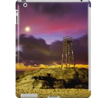 Redhead Beach in Moonlight iPad Case/Skin