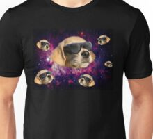 cool space dog Unisex T-Shirt