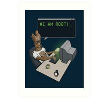 I am Root! Art Print