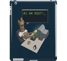 I am Root! iPad Case/Skin