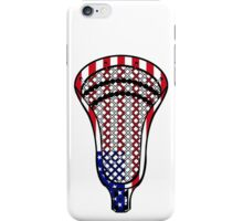Lacrosse Head Flag iPhone Case/Skin
