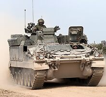 FV512 Warrior Mechanised Repair Vehicle by Andrew Harker