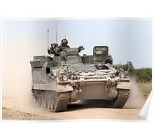 FV512 Warrior Mechanised Repair Vehicle Poster