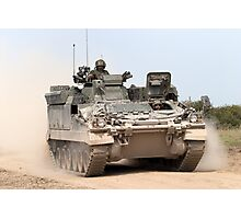 FV512 Warrior Mechanised Repair Vehicle Photographic Print