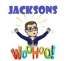 Jacksons geek wouhou Photographic Print