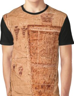 Horseshoe Canyon Great Gallery Figure 7 Pictographs Graphic T-Shirt