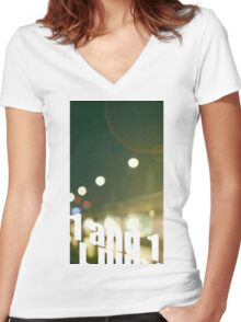 SHINee Tell Me What To Do Women's Fitted V-Neck T-Shirt