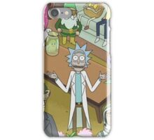 Rick and Morty, Where's Waldo iPhone Case/Skin