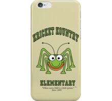 KRICKET KOUNTRY ELEMENTARY...where EVERY child is a little GENIUS! iPhone Case/Skin