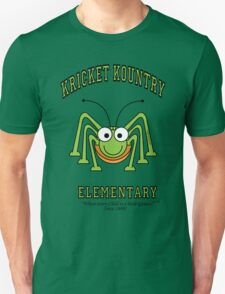 KRICKET KOUNTRY ELEMENTARY...where EVERY child is a little GENIUS! Unisex T-Shirt