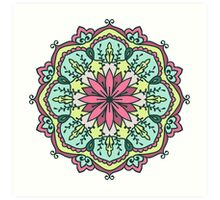 Mandala - Circle Ethnic Ornament Art Print