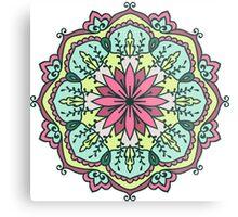 Mandala - Circle Ethnic Ornament Metal Print