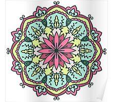 Mandala - Circle Ethnic Ornament Poster