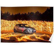 Citroen DS Racing Fire 2 Poster