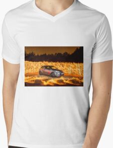 Citroen DS Racing Fire 2 Mens V-Neck T-Shirt