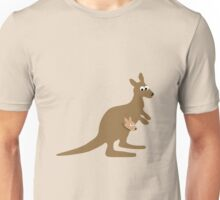 Kangaroo and Joey Unisex T-Shirt