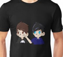How Deep Is Dan's Dimple? Unisex T-Shirt
