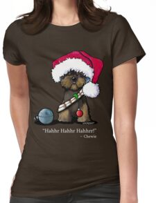 A Very Chewie Christmas T-Shirt Womens Fitted T-Shirt