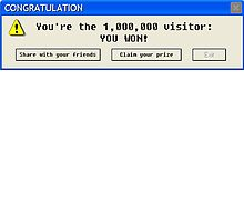 Nerd Stuff - Congratulation: you're the 1M visitor: YOU WON! by Emanuele Carione