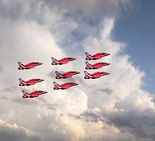 Reds Depart  by J Biggadike