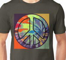 Peace Symbol - Tie Dye - 001 Unisex T-Shirt