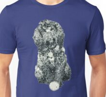 Cockapoo with a ball (Blue) Unisex T-Shirt
