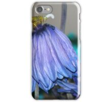 Fading like a flower iPhone Case/Skin