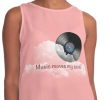 Music Moves My Soul! Contrast Tank