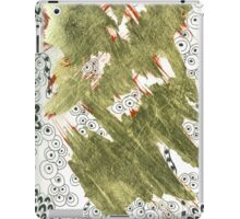 Golden (Mixed Media and Pattern) iPad Case/Skin
