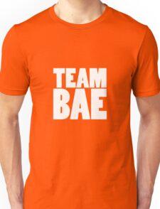 TEAM BAE WHITE Unisex T-Shirt