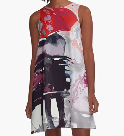 Paris Is For Lovers A-Line Dress