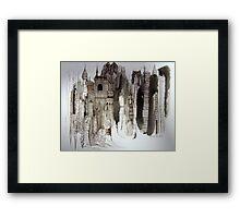 Bricks & Mortar Framed Print