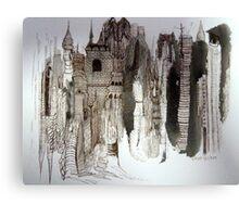 Bricks & Mortar Canvas Print