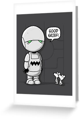Good Grief Marvin by Adho1982