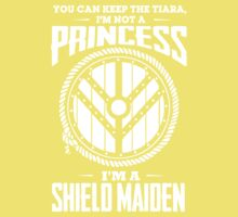 Don't call me a princess - I'm shieldmaiden One Piece - Short Sleeve