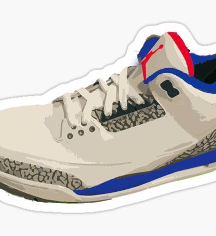 Jordan 3 True Blue Sticker