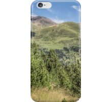 The Puigmal seen from the 'Collet de les Barraques' (Catalan Pyrenees) iPhone Case/Skin