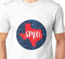 Southern Methodist University Circle Unisex T-Shirt