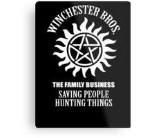 Winchester Bros. Metal Print