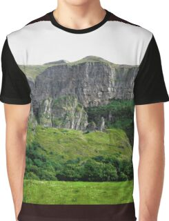 Towering Cliffs, Donegal, Ireland Graphic T-Shirt