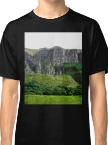 Towering Cliffs, Donegal, Ireland Classic T-Shirt