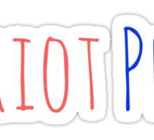 patriot pride Sticker
